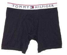 $59 Tommy Hilfiger Underwear Men Black Cotton Stretch Modern Boxer Brief Size L
