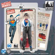 Superman / Clark Kent DC 8in Retro Cloth Figure ~ EC Comics Exclusive