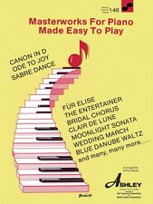 Masterworks for the Piano Made Easy to Play Sheet Music World's Favori 000510146