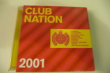 CLUB NATION 2001 MINISTRY OF SOUND 2CD SUPERMEN LOVERS KINGS OF TOMORROW DARUDE