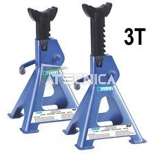 Coppia di cavalletti per auto 3 tonnellate FERVI 0069/3 altezza min298 max428 mm