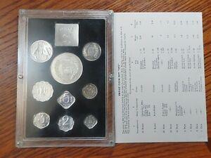 Republic of India 1973 FAO 9-Coins Proof Set (Prefect COA&Original Pack)