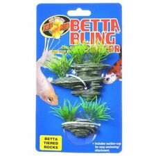 LM Zoo Med Betta Bling Tiered Rocks Decor 1 Pack