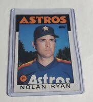 R40,085 - NOLAN RYAN - 1986 TOPPS - #100 - ASTROS -