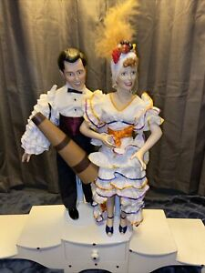 """""""I Love Lucy"""" Lucy and Ricky Porcelain Dolls 19"""" Be A Pal Hamilton Collection🤩"""