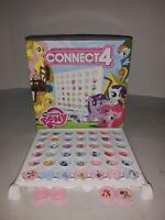 Connect  4 My Little Pony Game USAopoly COMPLETE
