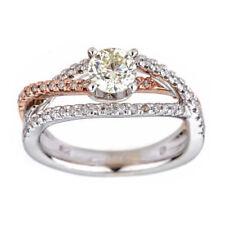 Anelli con diamanti naturale migliorato SI2