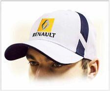 RENAULT unisex Baseball Cap Hat. 100% cotton. White color. Adjustable size