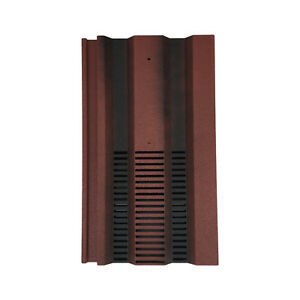 Roof Tile Vent To Fit Redland 49, Marley Ludlow Plus | 15 x 9 | Old English Red