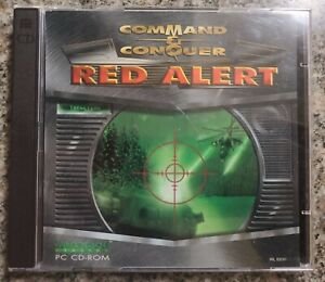 Command & Conquer: Red Alert (PC, 1996) Excellent Condition!