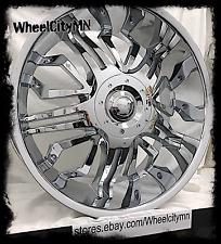 22 inch chrome Gitano G50 wheels rims Cadillac Escalade EXT ESV Platinum 6x5.5
