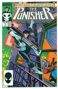 1)PUNISHER v2 #1(7/87)ONGOING SERIES(MIKE BARON/KLAUS JANSON)CGC IT(NM-/9.2)HOT!
