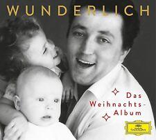 FRITZ WUNDERLICH-DAS WEIHNACHTSALBUM  CD NEU BACH/ABINONI/TELEMANN/+