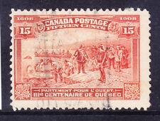 Canada 1908 SG194 15 C Marrone-Arancione-FINE USATO-OFF-Centre. catalogo £ 120