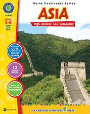Asia, Grades 5-8 Social Studies - DOWNLOAD