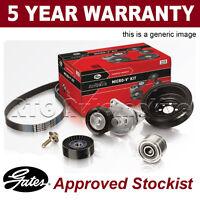 Gates Alternator Drive Belt Kit For Ford Mondeo 1.8 2.0 2000-2007 K016PK2223
