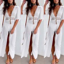 Summer Women Boho Maxi Long Evening Party Cocktail Ladies Beach Dresses Sundress