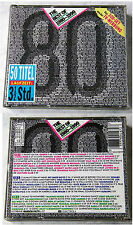 THE BEST OF 1980-1990 (Vol.1) 50 Titel - Queen, Mike Oldfield,... EMI 3-CD-Box