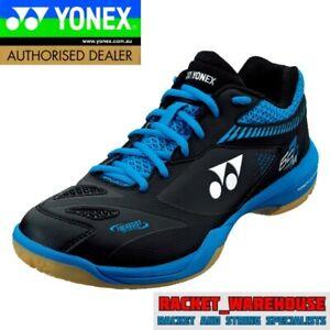 NEW YONEX POWER CUSHION SHB65Z2 BADMINTON SQUASH INDOOR SHOES BLACK/BLUE