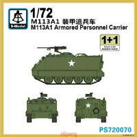 S-model PS720070 1/72 M113A1 Armored Personnel Carrier  (1+1) Hot