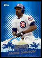 2014 TOPPS SPRING FEVER ANDRE DAWSON CHICAGO CUBS #SF-15 INSERT