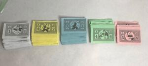 Monopoly Junior Replacement Money Hasbro 2005 C2