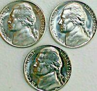 1965 1966 1967 SMS Special Mint Set Jefferson Nickels