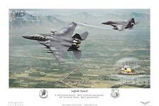 494th Fighter Squadron F15E, RAF Lakenheath Digital Artwork