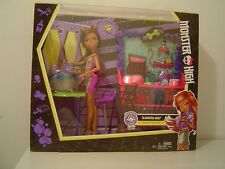 CLAWESOME PET SALON CLAWDEEN WOLF DAUGHTER OF THE WEREWOLF MONSTER HIGH DOLL