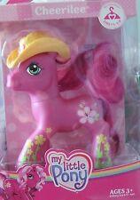 My Little Pony Dress-Up Cheerilee with Yellow Cowboy Hat - MLP NIB -Mylar Dented