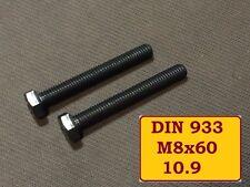 2 Stück DIN 912 Zylinderkopf M6X50 HOCHFESTE Edelstahlschrauben A4 Bumax88®