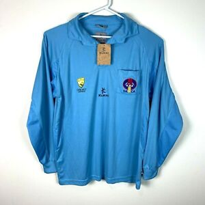 Kukri SA CA South Australia Cricket Long Sleeve Polo Shirt Size Men's XL Rare