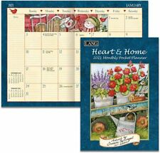 HEART AND HOME - 2021 POCKET PLANNER CALENDAR - BRAND NEW - LANG ART 03161