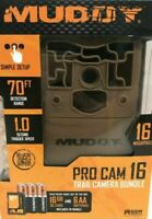 Muddy PRO CAM 16 TRAIL CAMERA BUNDLE 16 MP - #MUD-MTC200KX HUNTING Deer Turkey
