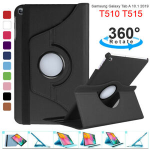 360 Rotate PU Leather Case Cover For Samsung Galaxy Tab A 10.1 2019/A7 Lite 2021