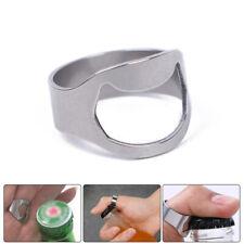 Beer Bottle Opener Stainless Steel Portable Finger Thumb Ring Bottle Opener nw