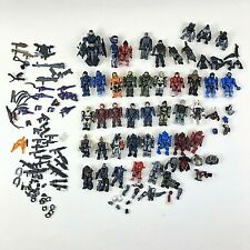 Mega Bloks Video Game Themed Mini Figure Lot Weapons Accessories Assorted Pieces