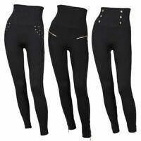Tights. Collant WOLFORD SANTA BARBARA coloris Black//Black Taille XS