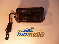 H2O Audio Black/Clear Micro Case - Crushproof, Secure, Protect.