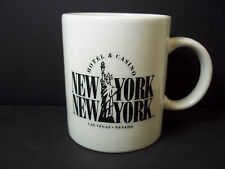 Ceramic coffee mug New York New York Hotel Casino Las Vegas 10 oz cup
