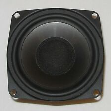 "3½"" wide-range speaker—poly cone, rubber surround, shielded magnet—several avail"