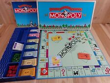 Monopoly DELUXE ANNIVERSARY EDITION 1991 Parker Brothers GOLD Tokens Train