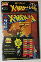 X-Men Marvel Activity Set Interactive Comic Special Edition