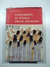 Lineamenti di storia delle religioni, A. Donini, Editori Riuniti 1959