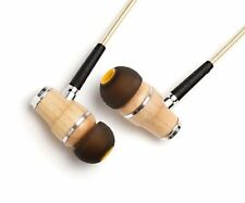 Symphonized NRG 2.0 Earbuds with Microphone, Noise Isolating Headphones - Gold