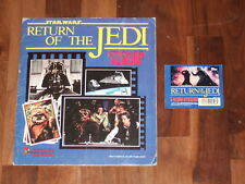 Star Wars The Return Of The Jedi Complete 1983 Panini Sticker Album & packet