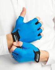 Solbari Sun Protection UPF50+ UV Protective Men's Fingerless Cycling Gloves