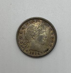 1894 P Barber Quarter   *90/% SILVER*   *FAIR OR BETTER*   **FREE SHIPPING**