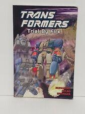 Transformers VOL. 7 Trial By Fire By Bob Budiansky Comic Book Boys Homeschool