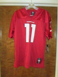"NEW AZ Cardinals NFL ""Larry Fitzgerald"" #11 Jersey Youth ( L) Reebok NFL $55"